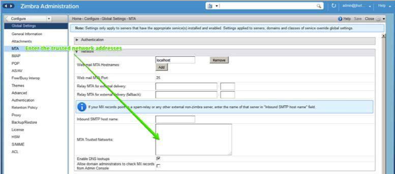 Zimbra Collaboration Administrator Guide version 8 8 3